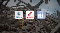 Apps from FEMA and the American Red Cross can aid in preparedness and in dealing with the aftermath of disaster.