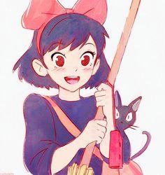 Image about anime in Studios Ghibli by Kaori-chan ♥ Character Design, Studio Ghibli Art, Drawings, Cute Art, Animation, Art, Anime, Cartoon, Anime Movies