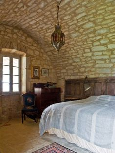 C home in Cahors, France Interior Photo, Interior Design, Houses In France, Barn Renovation, Barn Living, Farmhouse Remodel, French Country House, Floor Design, Maine House