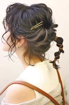 ボブでつくるポニーテールは短めが可愛い♡大注目のスタイルとは? in 2020 Kawaii Hairstyles, Messy Hairstyles, Wedding Hairstyles, Hair Inspo, Hair Inspiration, Hair Arrange, Bob, Hair Reference, Hair Shows