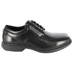 Nunn Bush Men's Bartole Medium/Wide/X-Wide Street Bicycle Toe Oxford Shoes (Black) - 12.0 M