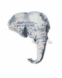 "Saatchi Art Artist Pia Lilenthal; Painting, ""Water for Elephants no.1"" #art"