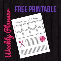 Free Printable ~ Wee