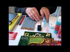 Art Journal Mixed Media supplies for beginners - YouTube