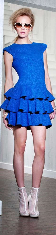 Rachel Zoe ● 2013 | The House of Beccaria| love this dres!
