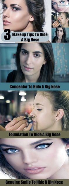 3 Makeup Tips and Tricks To Hide A Big Nose
