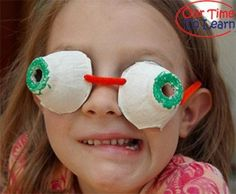 Learn about how your pupil's work with this educational craft from Our Time to Learn - preschool, kindergarten, eyes