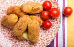 Κροκέτες πατάτας με 4 τυριά
