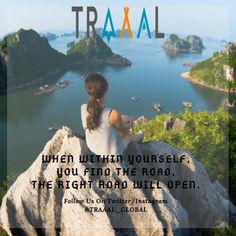 """""""When Within Yourself,  You Find the Road,  The Right Road Will Open."""" #FollowUs and #StayTuned for updates :) #travel #quotestagram #quoteoftheday #motivation #solo #solotravel #islands #photography #travelgram #instatravel #instatraveler #instatrip #nature #subscribe #startups #business"""