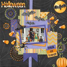 Halloween Candy Rush by Lindsay Jane Designs - Scrapbook.com