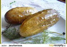 Pikantní kvašáky recept - TopRecepty.cz Fermented Foods, Baked Potato, Pickles, Canning, Ethnic Recipes, Workout Exercises, Kitchen, Marmalade, Preserve