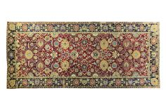 Central-Persian Isfahan carpet (circa 1650–1699). Size approximately 22ft. 3in. by 9ft. 5in. (6.78 by 2.87m.)