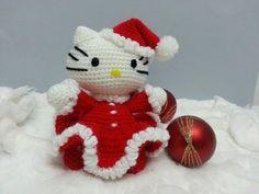 Hello Kitty – Mamá Noel | PatronesMil