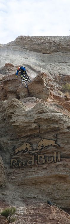 And the winner of the 2013 Red Bull Rampage is Kyle Strait.  He is the only rider to win the event more than once!