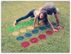 DIY Lawn Twister- Great for Family fun! Backyard Games, Outdoor Games, Outdoor Fun, Outdoor Twister, Twister Game, Backyard Parties, Outdoor Ideas, Backyard Ideas, Cub Scouts