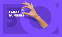 Large numbers LLC. on Behance