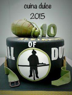 Call of duty cake.....www.cuinaguijuelo.com