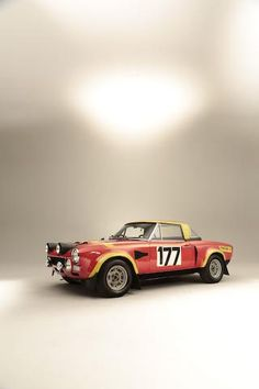 1973 Fiat Abarth 124 Rallye Two-Seat Rally Competition Coupé  Chassis no. 0064893