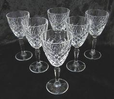 Set of 6 Vintage Crystal Liqueur Glasses by TheWhistlingMan, £18.00