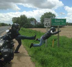 Meanwhile In Sparta, Michigan.