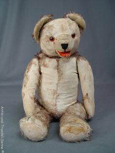 schöner antiker Teddy 49 cm 8.