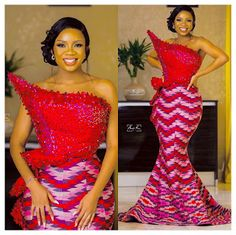 African Prom Dresses, Latest African Fashion Dresses, African Dresses For Women, African Wedding Attire, African Attire, Ankara Wedding Styles, African Fashion Traditional, Lace Gown Styles, Kente Dress