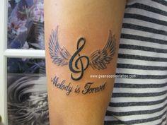 Treble Clef Tattoo  Gwan Soon Lee