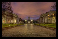 Trinity College, Dublin, Ireland ~ by SneachtaPix @DeviantArt.com