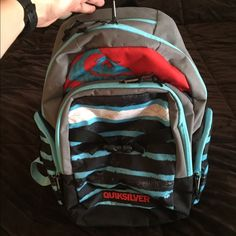 Quicksilver backpack Only used one time. Great condition! Laptop slot.    Willing to bargain. Everything I'm selling must go!! Quiksilver Bags Backpacks