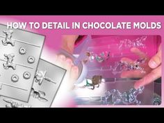 How to Detail in Chocolate Molds - YouTube