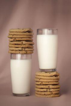 cookies and milk, milk and cookies.