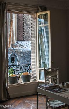 #Paris #window #view