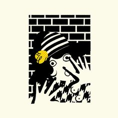 The New Yorker Crime Issue on Behance