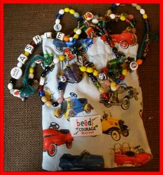 Quilters are helping Beads of Courage now, by sewing fabric bags for the kids to hold their special Beads of Courage. You can help too! Service Projects For Kids, Service Ideas, Beads Of Courage, Child Life Specialist, General Crafts, Beaded Bags, Fabric Bags, Handmade Beads