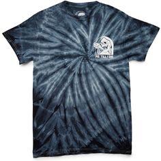 Sketchy Tank Pie T-Shirt - Tie Dye