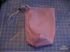 Drawstring wet bag tutorial