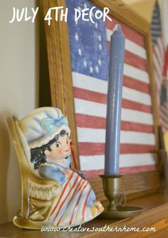Great 4th of July Decor from Creative Southern Home