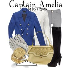 """""""Captain Amelia"""" by lalakay on Polyvore"""