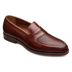 Carlsbad Penny Loafers, 6662 Chili Burnished Calf/Chili Weave, blockout