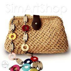 #crochet #crochetbags #crochetjutebag #hempbag #handmade #handmadebags #bags #bagsandpurses #onlinebags #freeshipping #crochetclutch #ecofriendly #naturalbag #summerbag #beachbag #handbags #uniquedesignbags #knitbags #stylish #shoulderbag #crossbody #handwovenbag #simartshop Etsy Handmade, Handmade Items, Beautiful Gifts, Crochet Gifts, Jute, Clutch Bag, Etsy Store, Vintage Items, Etsy Seller
