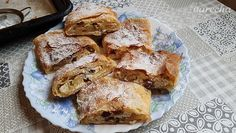 Tvarohová štrúdľa (videorecept) - recept | Varecha.sk Toffee Bars, Baking Videos, French Toast, Ale, Breakfast, Recipes, Youtube, Basket, Bulgur