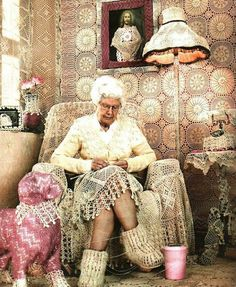 I hope this will be me in a few years! #crochetpassion