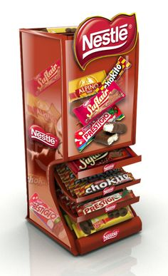 Point of Sale | Glorifier | Point of Purchase Design | POP | POSM | POS | POP | Nestle - Exposição Balcão gravitacional 2 | MyFolio