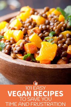 101 Easy Vegan Recipes to Save You Time and Frustration | VegByte Vegan Recipes Videos, Vegan Lunch Recipes, Vegan Recipes Beginner, Recipes For Beginners, Delicious Vegan Recipes, Diet Recipes, Healthy Recipes, Soup Recipes, Cooking Recipes