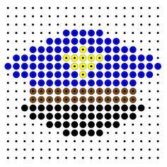 politie Kleutergroep Ambulance, Hama Beads, Cops, Beading Patterns, Pixel Art, Cross Stitch, School, Crafts, Image