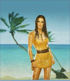 Dress Evangeline Lilly