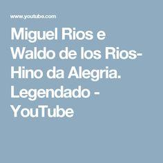 Miguel Rios e Waldo de los Rios- Hino da Alegria. Legendado - YouTube