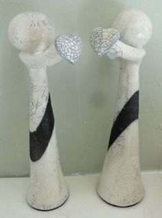 Just the two of us by MartinONeillceramics on Etsy, £59.00
