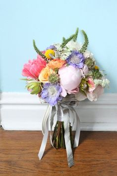 shabby #chic bouquet by emmy-ray