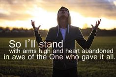 not generally a Praise and worship fan, but this song makes me think of mornings in Africa. Great Quotes, Quotes To Live By, Me Quotes, Inspirational Quotes, Godly Quotes, Praise Quotes, Cutest Quotes, Motivational, Praise Songs